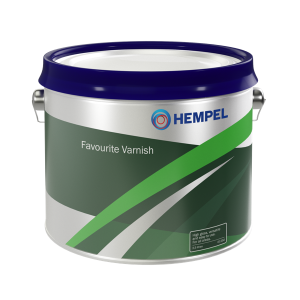Hempel Favourite Varnish 01250 - 2,5 ltr Clear