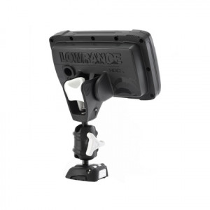 ROKK Mini Lowrance HOOK2 Pro Mount Kit with Screw Down Base RLS‐521‐401