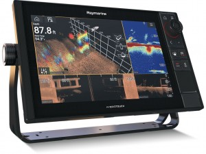 """Raymarine AXIOM 12 PRO-S, HybridTouch 12"""" Multifunktions display ned intergreret HIGH CHIRP Konisk sonar til CPT-S"""